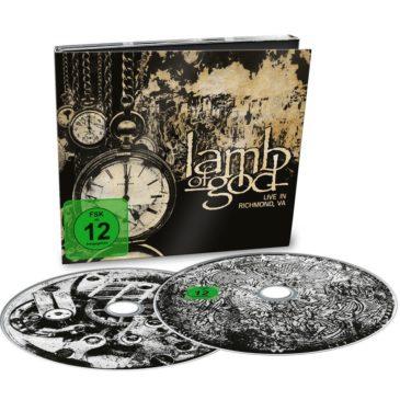 Lamb Of God - Lamb Of God Live From Richmond - VA, Album Cover