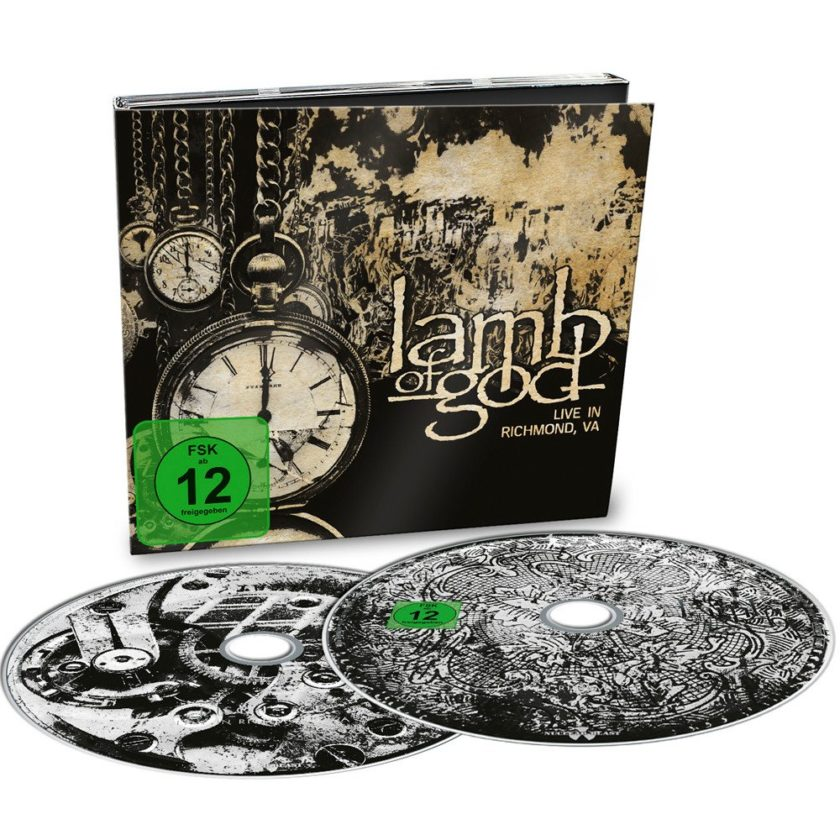 Lamb Of God - Lamb Of God Live From Richmond - VA, Album Cover