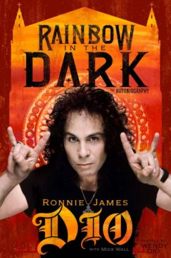 Ronnie James Dio - Rainbow In The Dark The Autobiography - Book Cover