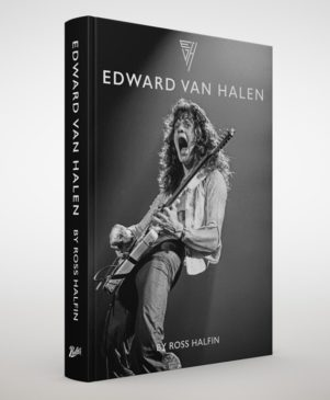 Ross Halfin - Edward Van Halen - Book Cover