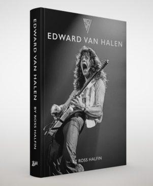 Ross Halfin - Edward Van Halen - Book Cover