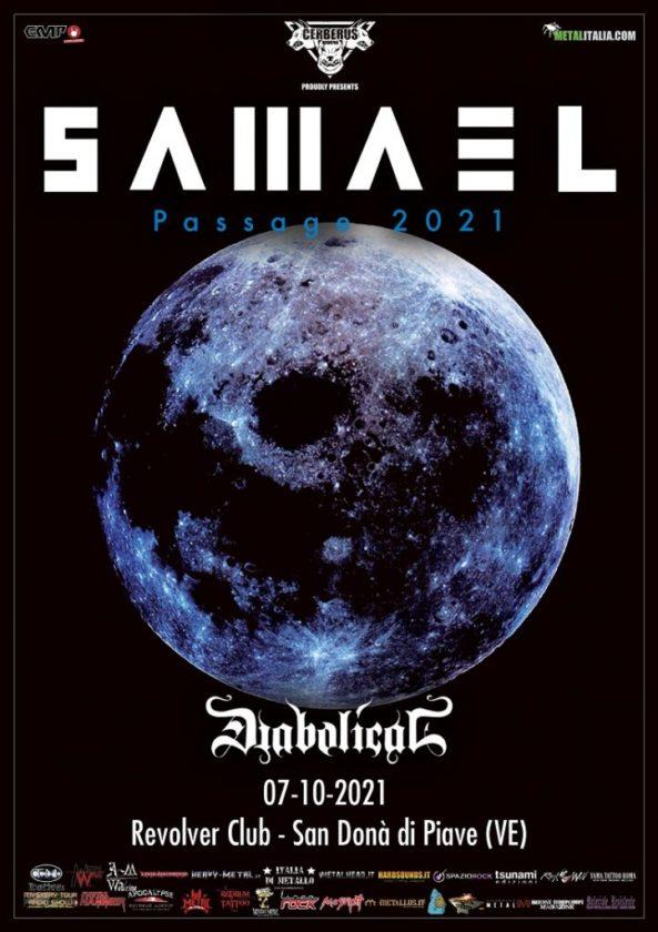Samael - Diabolical - Revolver Club - Passage 25th Anniversary Special Show 2021 - Promo