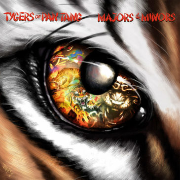 Tygers Of Pan Tang - Majors Minors - Album Cover