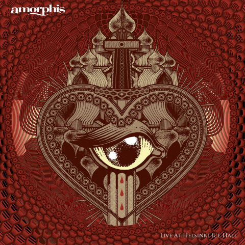 Amorphis - Live At Helsinki Ice Hall - Album Cover