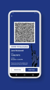 Covid - The Excelsior App
