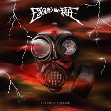 Escape The Fate - Chemical Warfare - Album Cover