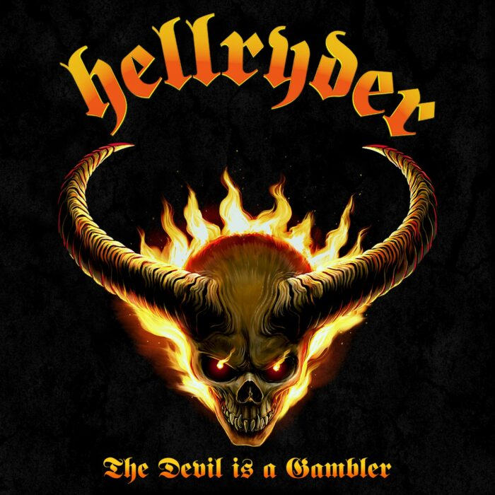 Hellryder - The Devil Is A Gambler - Album Cover