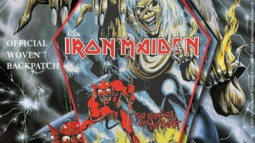 Iron Maiden - The Number Of The Beast - Toppa