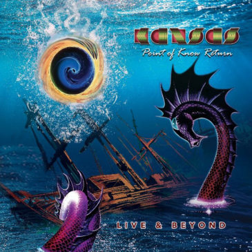 Kansas - Point Of Know Return Live Beyond- Album Cover