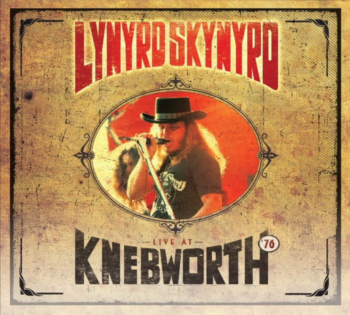 Lynyrd Skynyrd - Live At Knebworth 76 - Album Cover