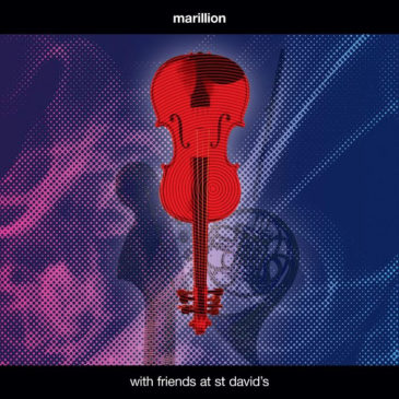 Marillion - With Friends At St Davids - Album Cover