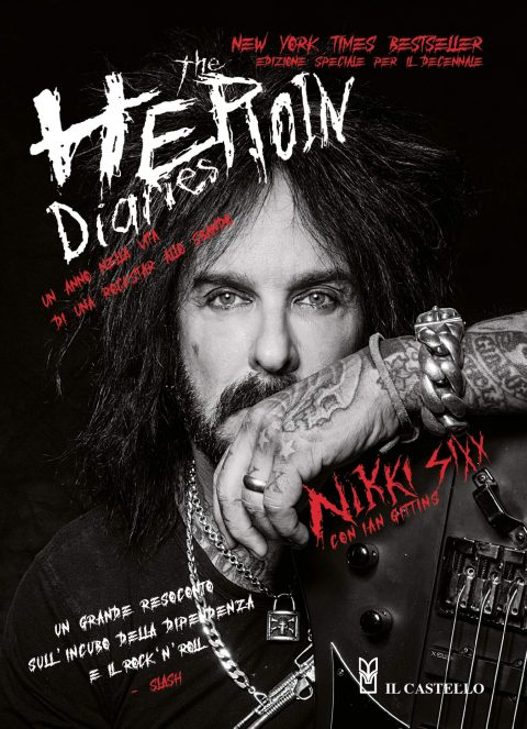 Nikki Sixx - The Heroin Diaries - Book Cover
