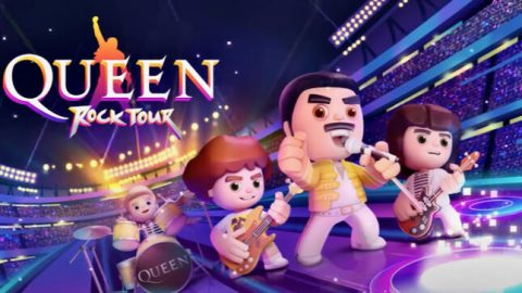 Queen - Queen Rock Tour - Mobile Game Cover