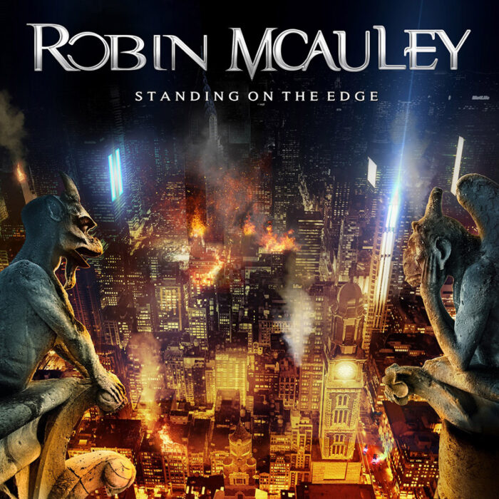 Robin Mcauley - Standin On The Edge - Album Cover