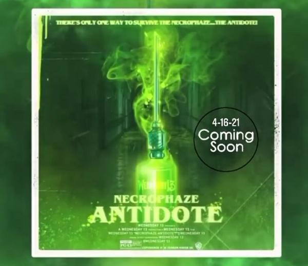Wednesday 13 - Necrophaze Antidote - Album Cover