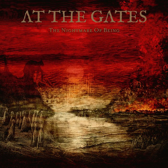 At The Gates - Nightmare Of Being - Album Cover
