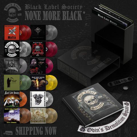 Black Label Society - None More Black - Boxset Cover