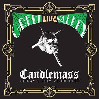Candlemass - Green Valley Live - Album Cover