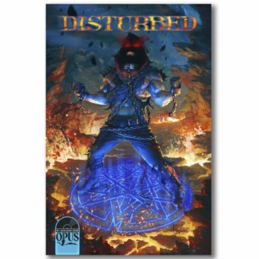 Disturbed - Dark Messiah - Comics Cover