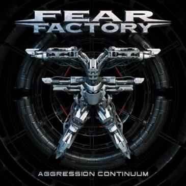 Fear Factory - Aggression Continuum - Album Cover