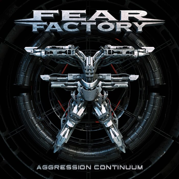Fear Factory - Aggression Continuum - Album Cover