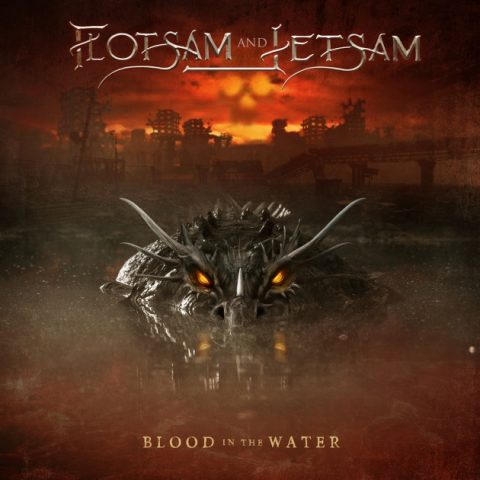 Flotsam And Jetsam - Blood In The Water - Album Cover