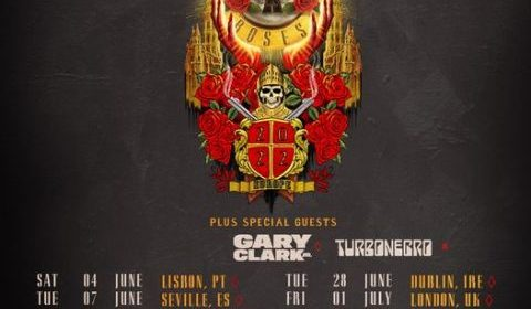 Guns N Roses - Gary Clark Jr - Stadio San Siro - Milano - European Tour 2022 - Promo