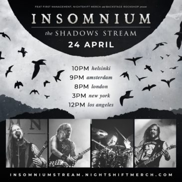 Insomnium - The Shadows Stream - Live In Streaming 2021 - Promo