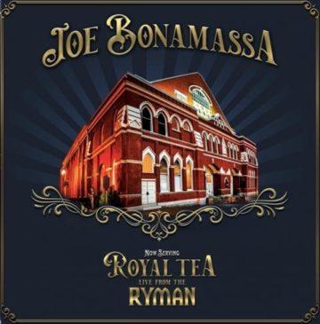 Joe Bonamassa - Now Serving Royal Tea Live From The Ryman - Album Cover