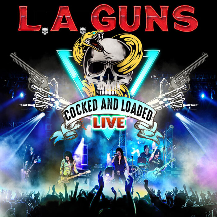La Guns - Cocked And Loaded Live - Album Cover