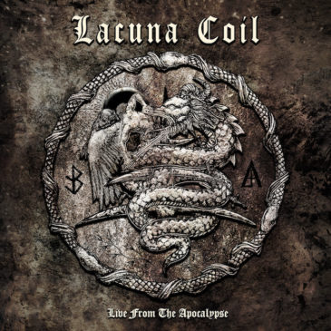 Lacuna Coil - Live From The Apocalypse - Album Cover