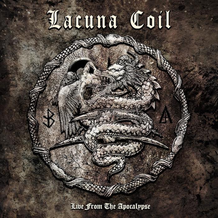 Lacuna Coil - Live From The Apocalypse - Album Cover