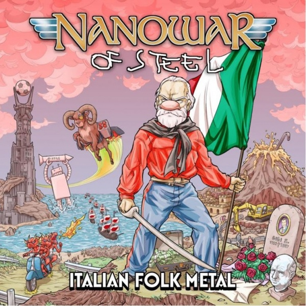 Nanowar Of Steel - Italian Folk Metal - Album Cover