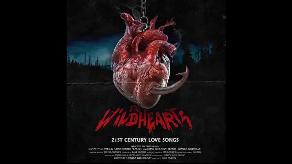 The Wildhearts - 21St Century Love Songs - Album Cover