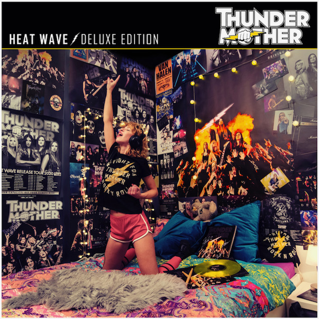 Thundermother - Heat Wave - Deluxe Edition Cover