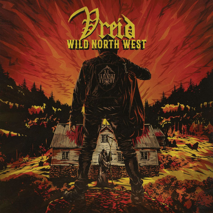 Vreid - Wild North West - Album Cover