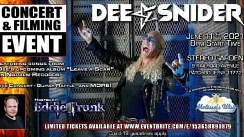 Dee Snider - Live In New York - Promo