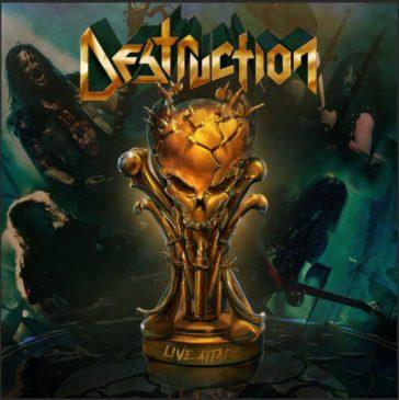 Destruction - Live Attack - Album Cover