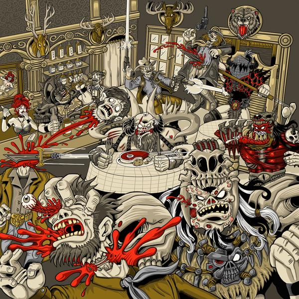 GWAR - The Disc With No Name - EP Cover