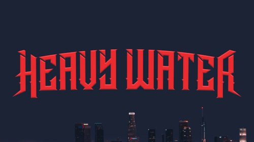 Heavy Water - Red Brick City - Album Cover
