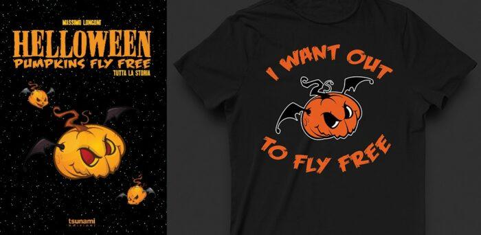 Helloween - Helloween Pumpkins Fly Free - Book Cover