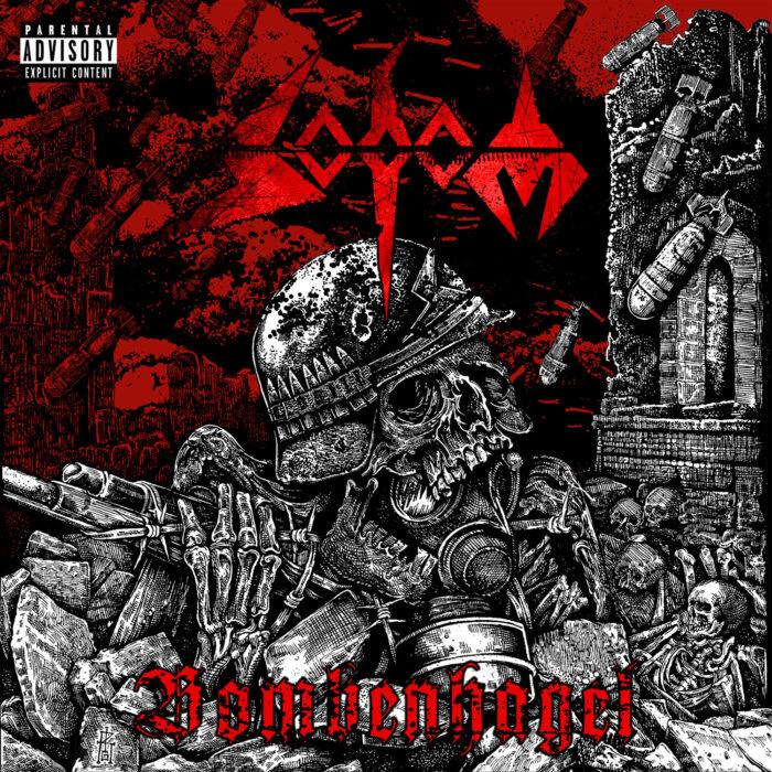 Sodom - Bombenhagel - EP Cover