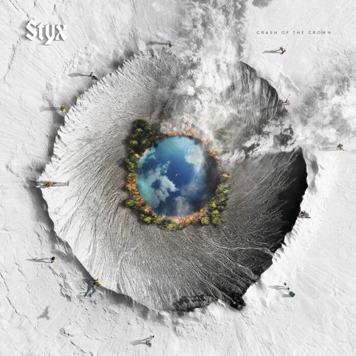 Styx - Crash Of The Crown - Album Cover