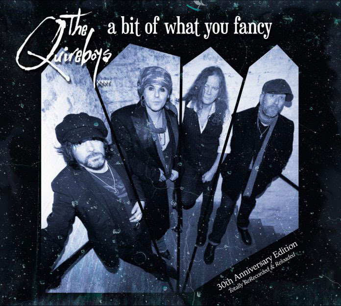The Quireboys - A Bit Of What You Fancy 30Th Anniversary - Album Cover