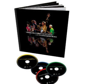 The Rolling Stones - A Bigger Bang Live On Copacabana Beach - DVD Cover
