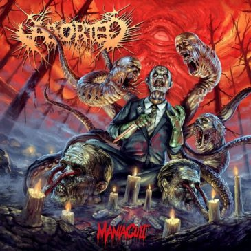 Aborted - Maniacult - Album Cover