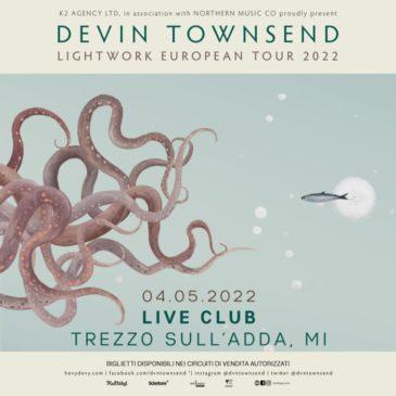 Devin Townsend - Live Club - Lightwork European Tour 2022 - Promo