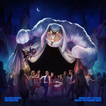 Diablo Swing Orchestra - Swagger Stroll Down The Rabbit Hole - Album Cover