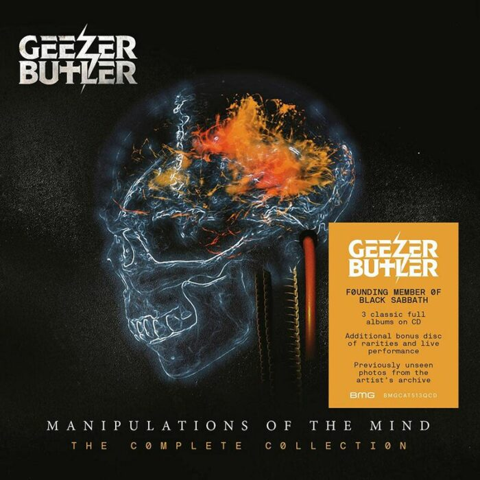Geezer Butler - Manipulations Of The Mind The Complete Collection - Album Cover