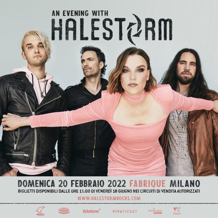 Halestorm - Fabrique - Milano - Live In Italy 2022 - Promo